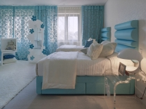 Light-blue-bedroom-curtains-modern-room-designs