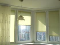 римские и рулонные шторы