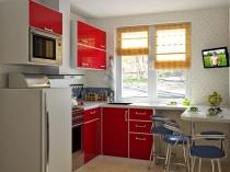 Микроволновка-во-встроенной-кухне