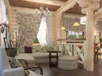 Кантри-—-легкие-шторы-в-гостиную