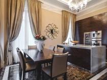 modern-home-design-marbell-flooring-walnut-wooden-dining-table-curtain-chandelier-rcessed-ceilling-lamp-kitchen-cabinet-kitchen-island-sink