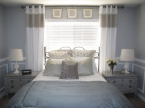 20 Master Bedroom with extended draperies