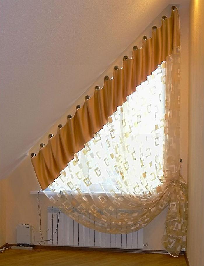 Кронштейны для подвеса штор сами по себе украшение интерьера