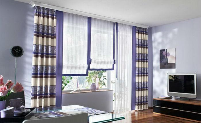 Карниз в цвет потолка – универсальное решение для любых интерьеров