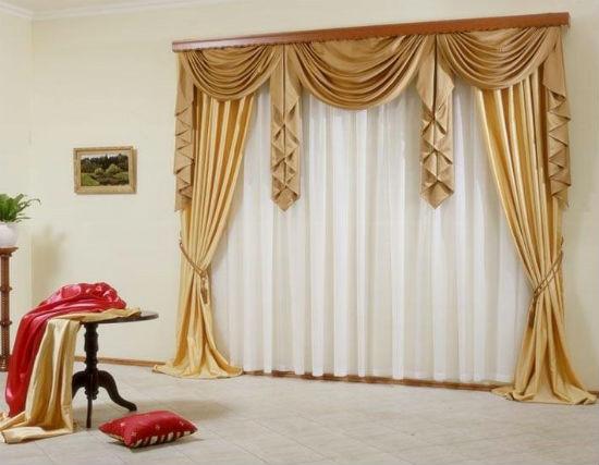 Выбор карниза зависит от дизайна интерьера и модели занавесок