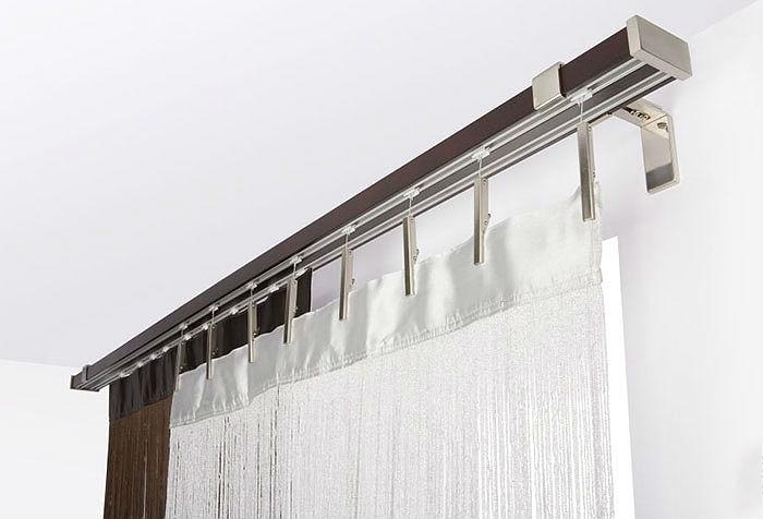 Комбинированные карнизы, в которых сочетаются различные текстуры, являются палочкой-выручалочкой для оформления современных стилей интерьера