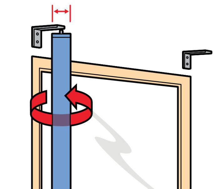 Как правильно зафиксировать кронштейны на стене