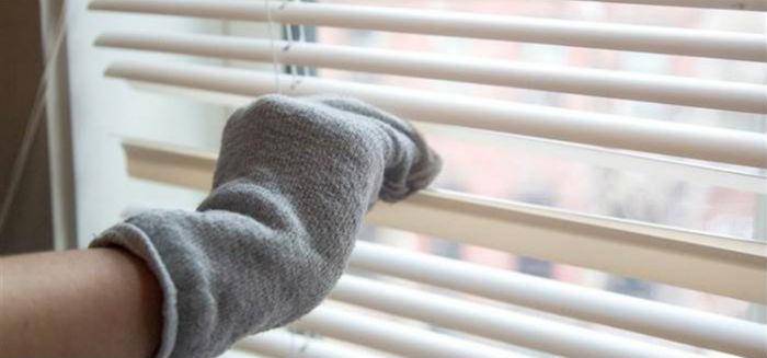 Носком из мягкой ткани очень удобно мыть и полировать ламели