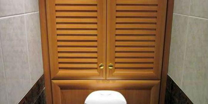 Дверцы-решетки обеспечивают доступ вентиляцию внутреннего пространства