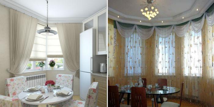 Жалюзи, воздушные занавески и изящные ламбрекены – лучшее решение для оформления окон на кухне