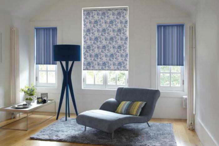 Рулонные шторы надежно защищают внутреннее пространства от солнца и света фонарей