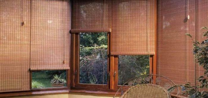 Бамбуковые шторы обладают массой преимуществ