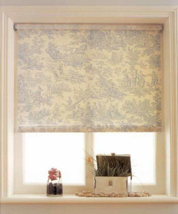 Рулонные шторы способны украсить интерьер