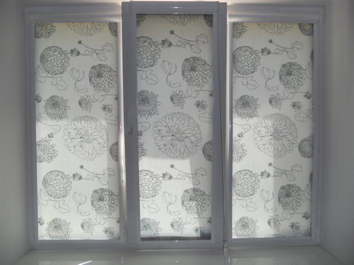 Ролл шторы закрытого типа
