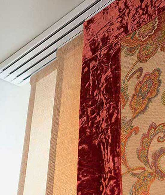 Японские шторы добавят восточной эстетики