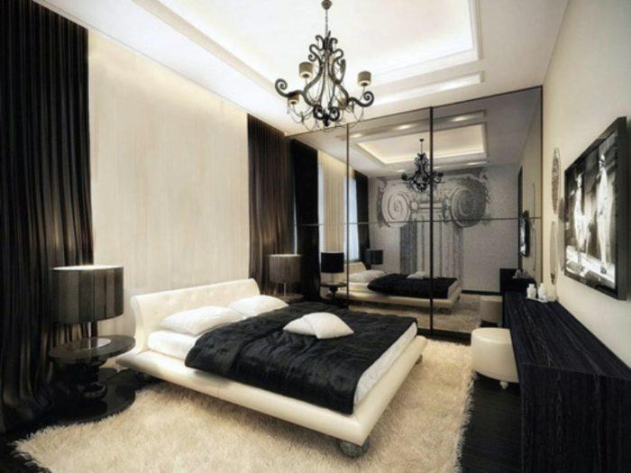 Строгий черный и белый – изюминка современного модерна