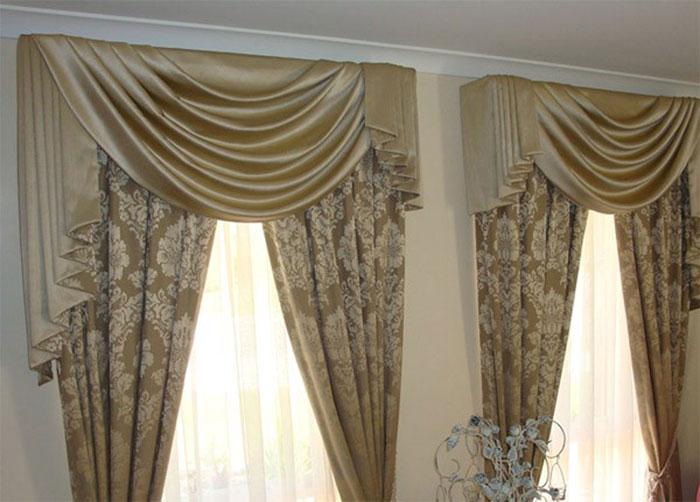 Будет нелегко покрыть шторы вышивкой