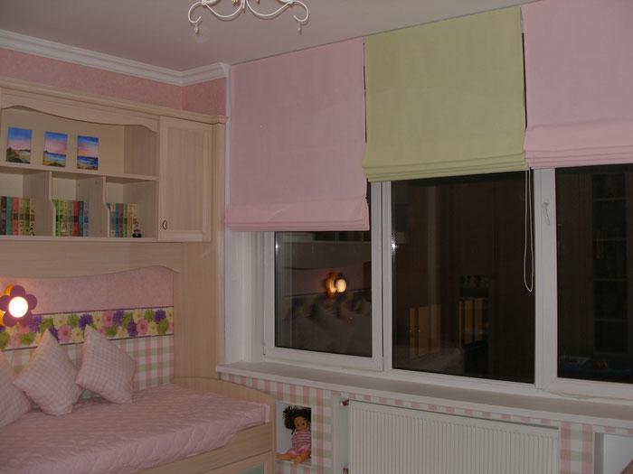 На фото – вариант оформления для спальни маленькой принцессы