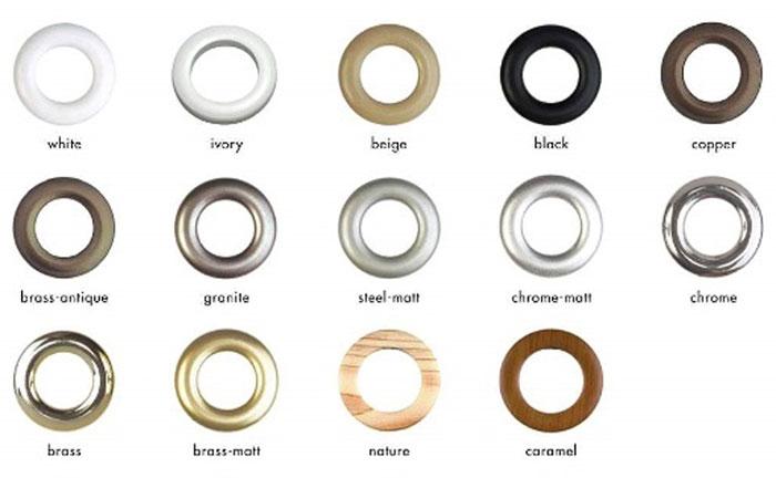 Цветовые вариации изделий