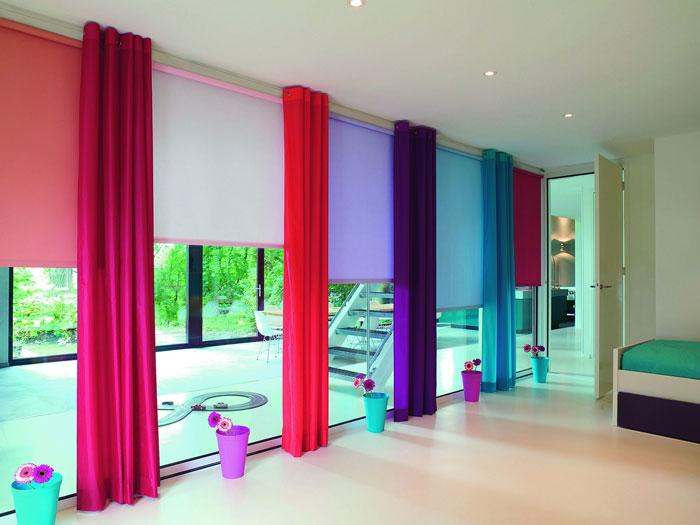 Яркий дизайн штор поднимет настроение даже в самый тоскливый день