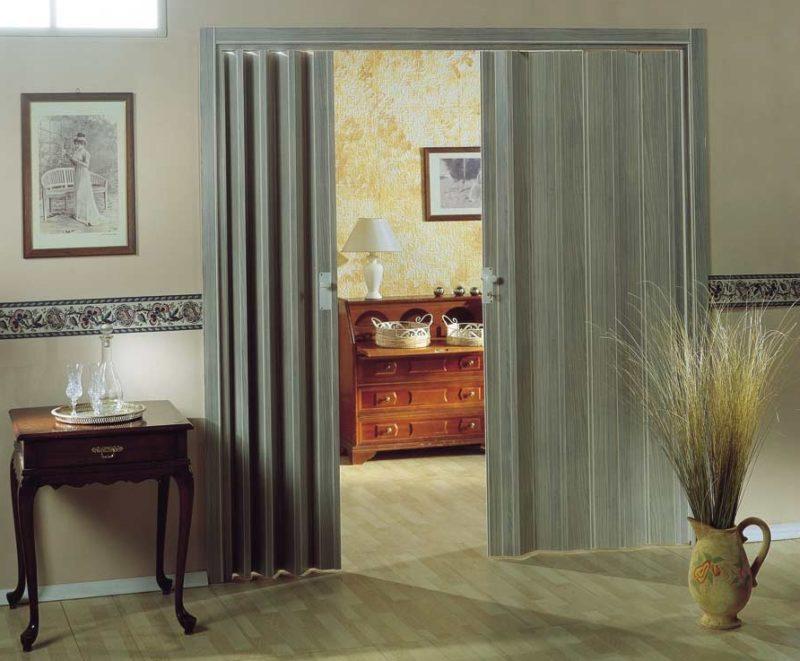 Современные двери-шторы