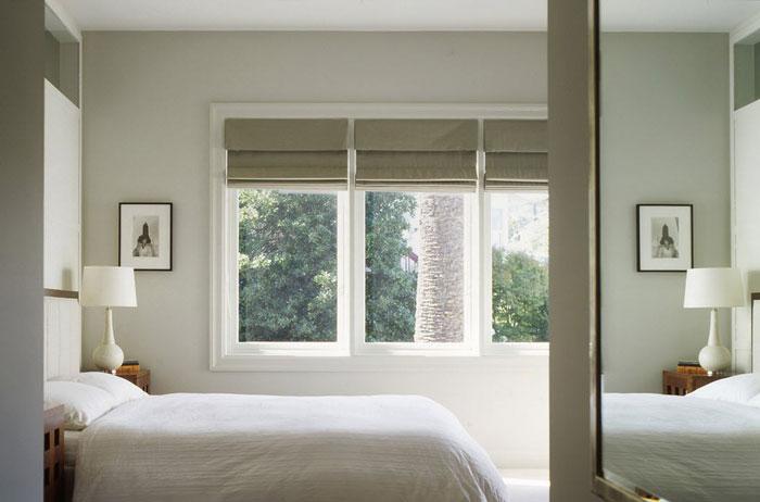 Лаконичность и минимализм для спальни в стиле хай-тек