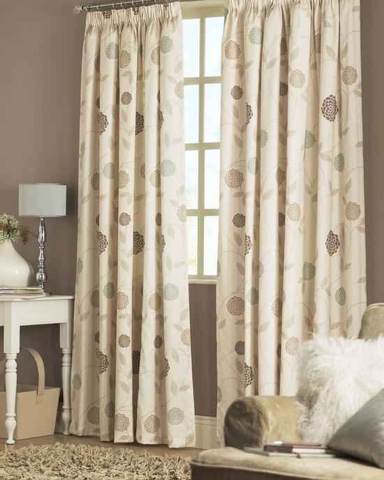 Хлопковые шторы — украшение любой комнаты