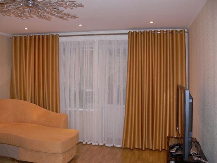 Для больших штор нужно больше тканьевой материи