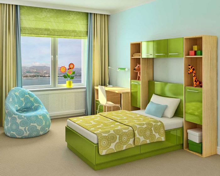 Рулонные шторы и жалюзи могут использоваться как вместо текстильных штор, так и комбинироваться с ними, например, как на этом фото